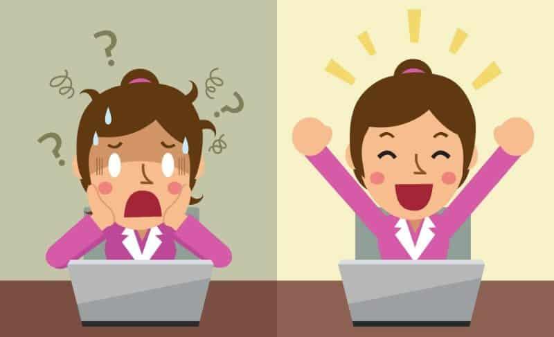 Ridurre lo stress dei clienti del tuo e-commerce