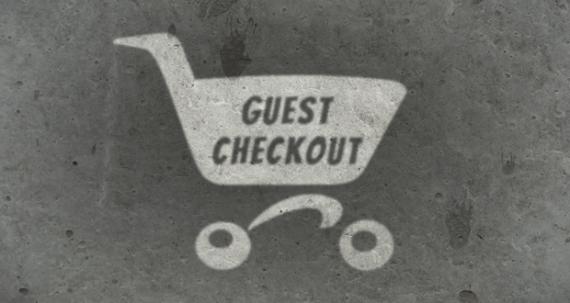 Registrazione obbligatoria oppure il guest checkout