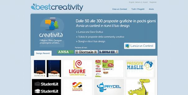 Best Creativity Crowdsourcing italia
