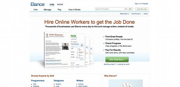 Crowdsourcing per lo sviluppo, il web design e la consulenza