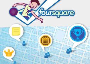 I servizi di geolocalizzazione di Foursquare