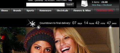 Un contatore per spiegare ai consumatori fin quando sono garantite le spedizioni natalizie