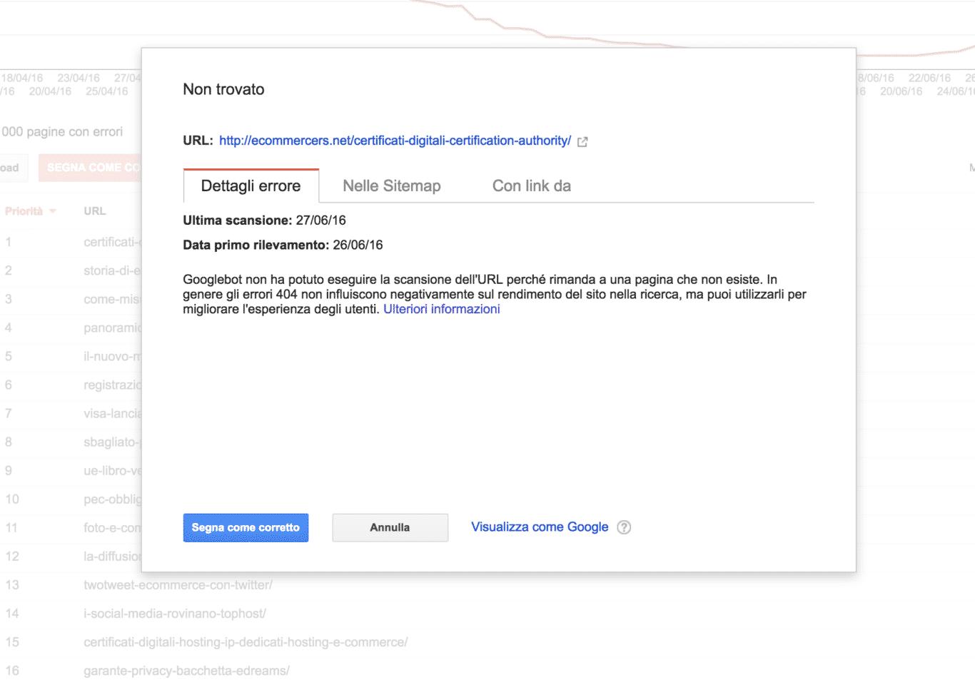 5131-GoogleSearchConsole-ErroriDiScansione-Dettaglio