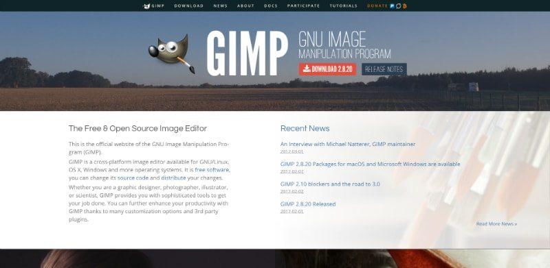 GIMP e Inkscape sostituiscono Photoshop e Illustrator