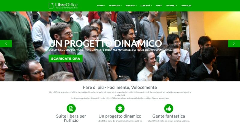 LibreOffice è l'alternativa open source a Microsoft Office