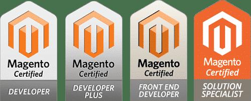 I sigilli delle certificazioni Magento