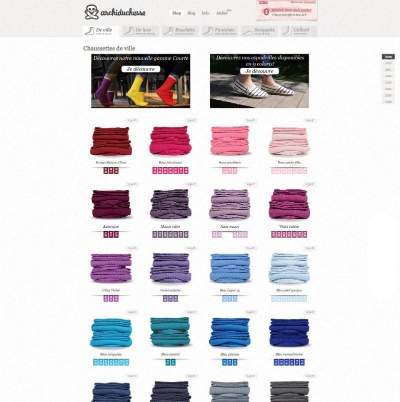 Home page di Achiduchesse